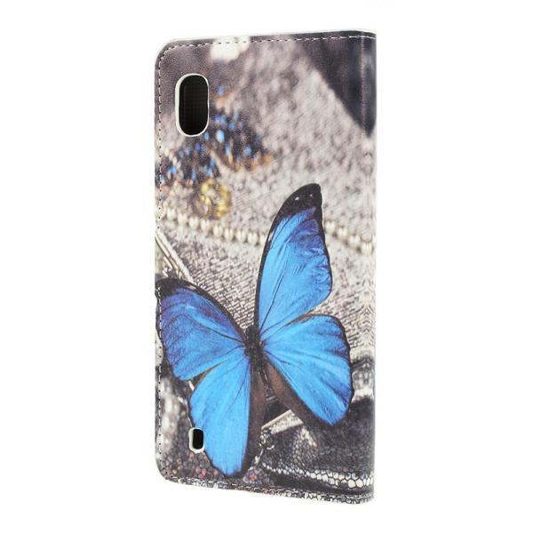 Plånboksfodral Samsung Galaxy A10 - Blå Fjäril