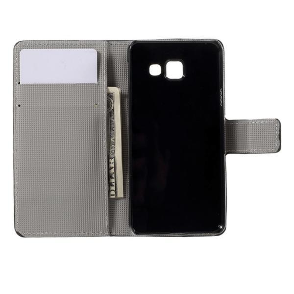 Plånboksfodral Samsung Galaxy A3 (2016) – Blå Fjäril