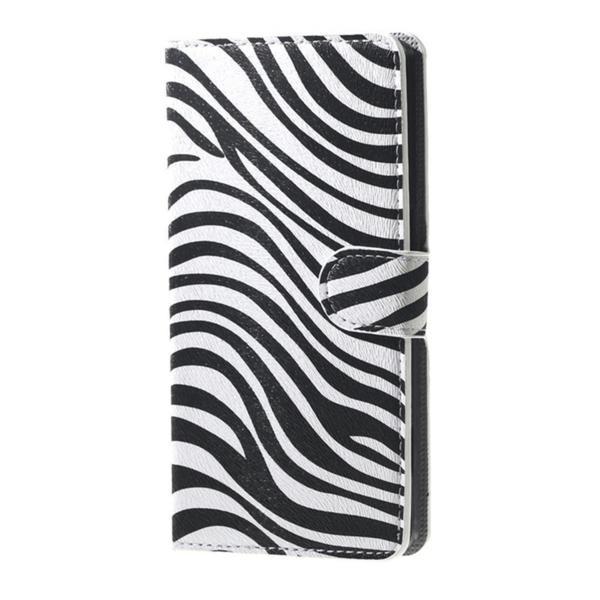 Plånboksfodral Sony Xperia X Compact - Zebra