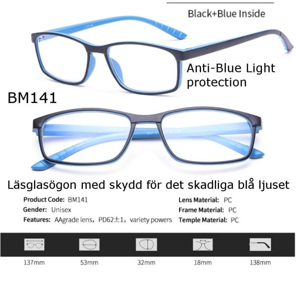 Läsglasögon BM141 Lins 1.0