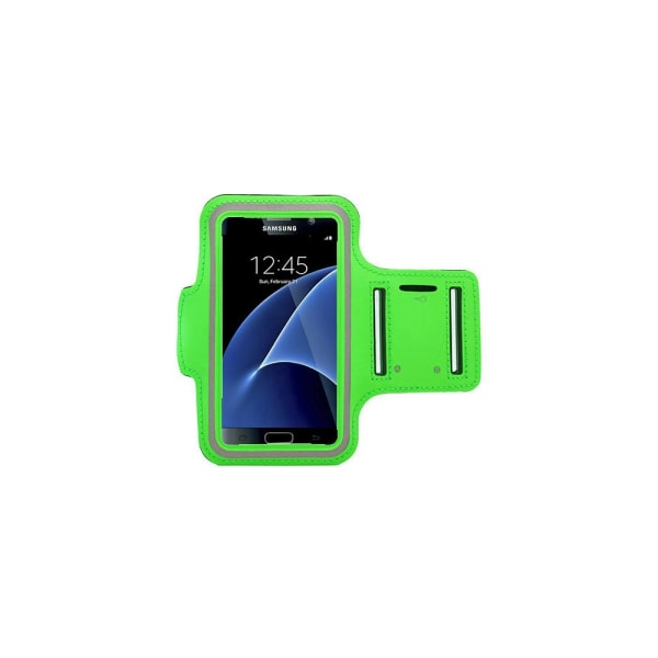 Sportarmband Samsung Galaxy S7 Edge + 3 i 1 Kit Svart