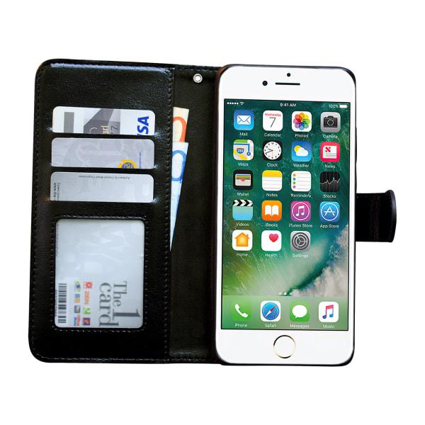 iPhone 7/8/SE (2020) - Läderfodral / Skydd Brun