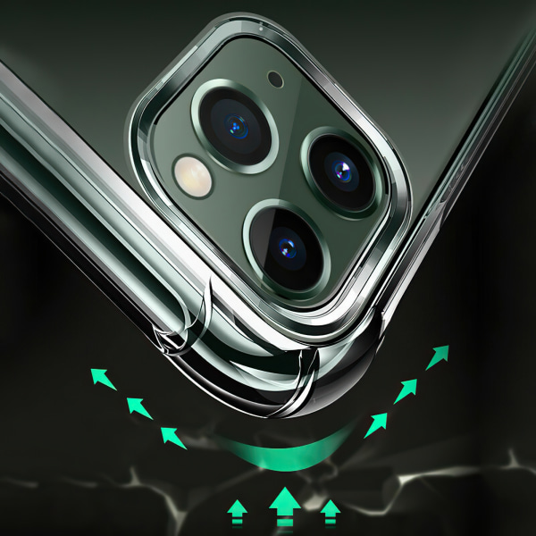 iPhone 12 Pro Max - Skal / Skydd / Transparent
