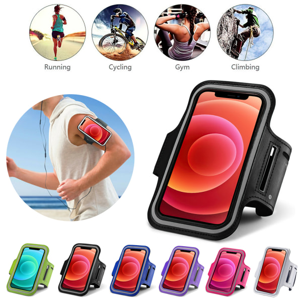 iPhone 12 Mini - Sportarmband Lila