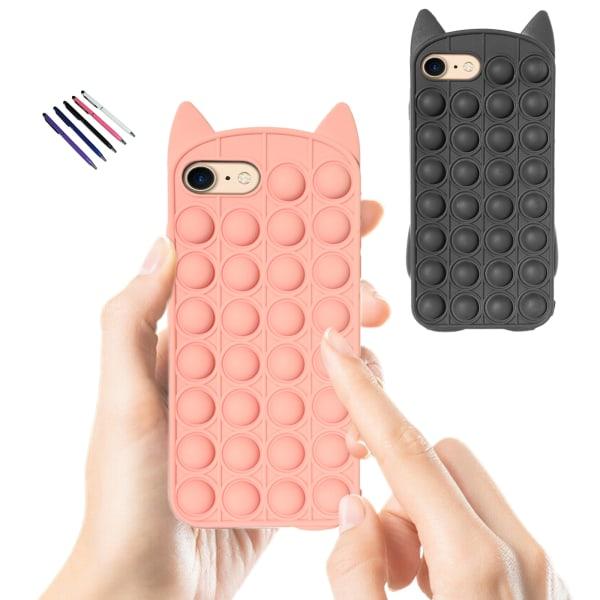 iPhone 6/7/8/SE(2020) - Skal / Skydd / Pop It Fidget iPhone 6 Svart