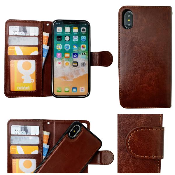 iPhone Xr - Läderfodral / Skydd Brun