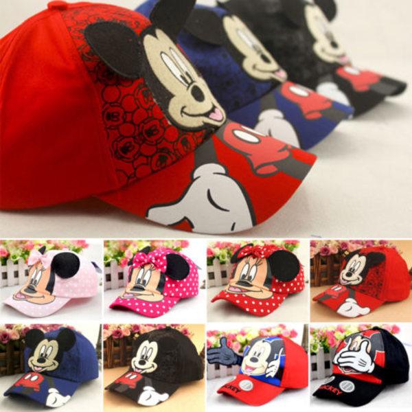 Disney Toddler Boy Mickey Mouse Outdoor Baseball Cap bule