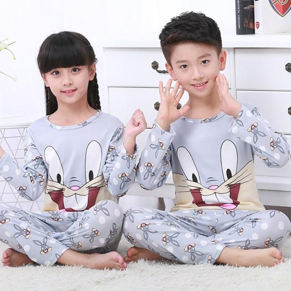 Barn sommar söta pyjamas set _ söta tryckta pyjamas _ Barn somm Bugs Bunny 14
