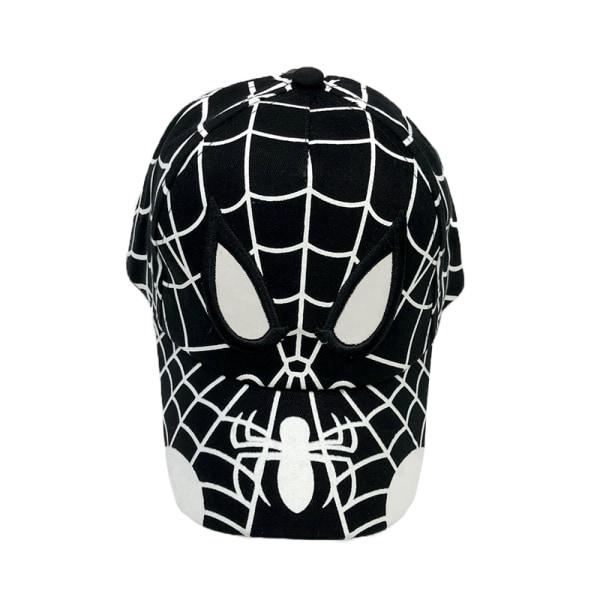 Spiderman keps tecknad barn baseball keps hip hop keps black 52-54 CM