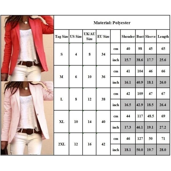 Europeisk och amerikansk mode långärmad liten kostym