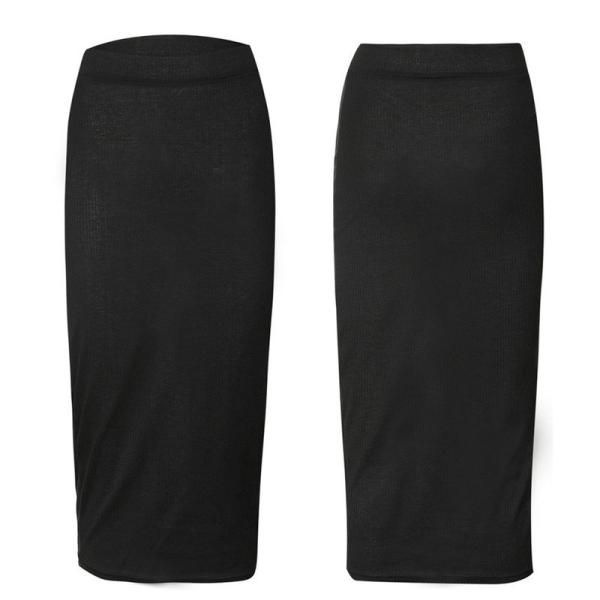 Höst vinter kvinnor lång kjol ull