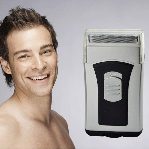 Män Elektrisk Folie Rakapparat Vattentät Mini Resetrimmer Vattentorr