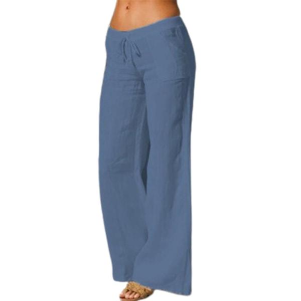 Europeiskt och amerikanskt mode retro flared yoga byxor