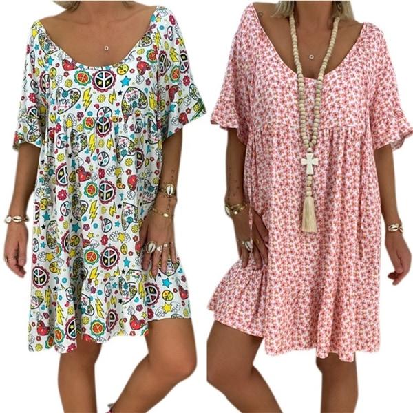 Europeiskt och amerikanskt sexigt djupt V långärmad klänning