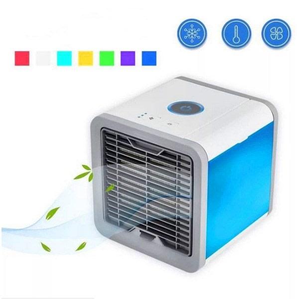 Bärbar luftkylare Mini luftkonditionering 4 i 1 kontor / sovsal