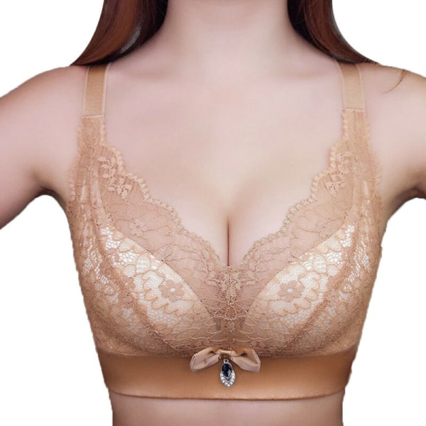 Sömlösa underkläder Push Up vadderade bralette behå damunderkläder Pink 38/85