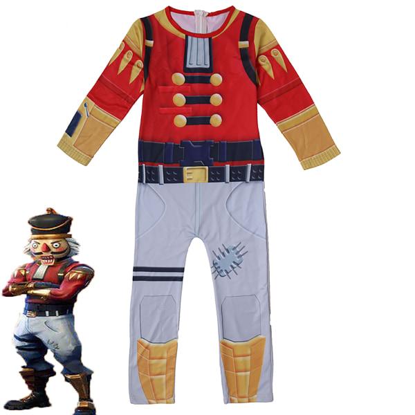Walnut Soldier Set Halloween Cosplay-kostym för barn 3D-stil