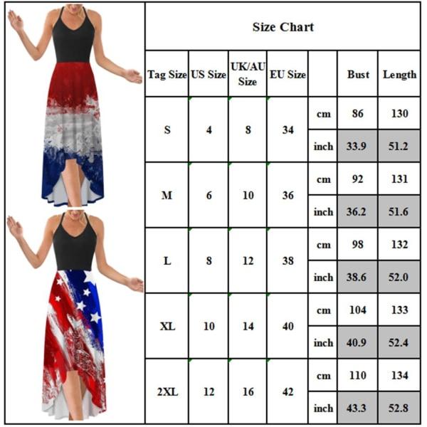 Kvinnans temperament mid-längd kjol _ tryckt retro klänning red L