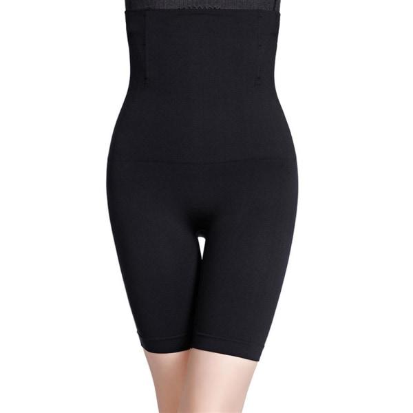 Kvinnors midjesträning i midjan med hög midja black M/L