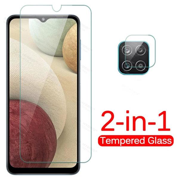 Skärmskydd + Kameralinsskydd HD 0,3mm Galaxy A12 Transparent
