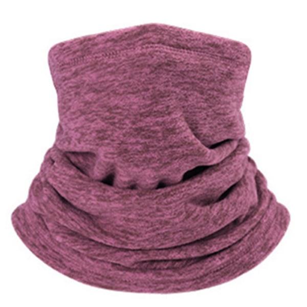 Varm Fleece Nackhalsduk Röd