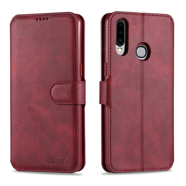 Samsung Galaxy A20S - Yazunshi Plånboksfodral Röd