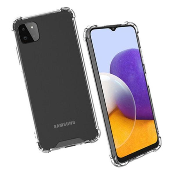 Samsung Galaxy A22 5G - Skyddsskal FLOVEME Genomskinlig