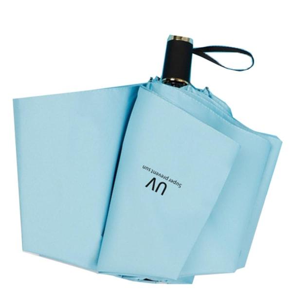 Praktiskt Automatiskt Paraply Mörkblå