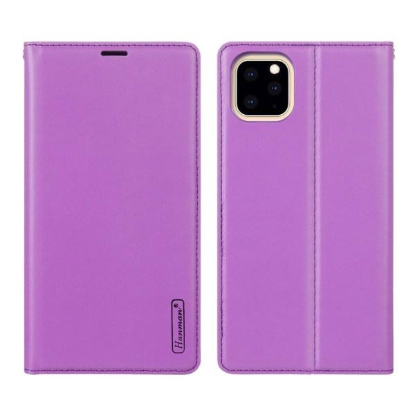 iPhone 11 Pro - Genomtänkt Smart Hanman Plånboksfodral Brun