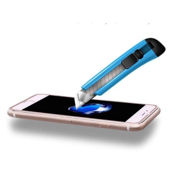 5-PACK Originalskydd från HuTech 3D (Aluminium) iPhone 8 Svart