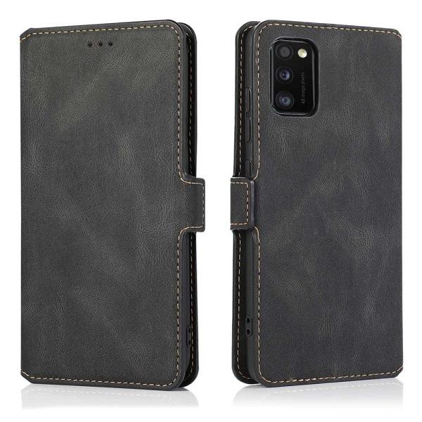 Samsung Galaxy A41 - Plånboksfodral (FLOVEME) Brun