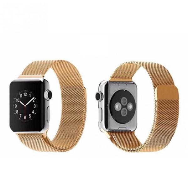 Apple Watch 38mm - Stilren stållänk (Rostfritt) Grå