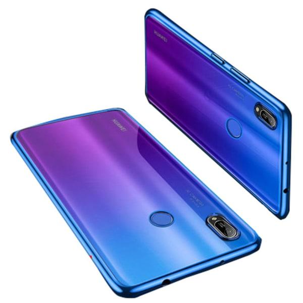 Huawei Y6 2019 - Stilrent Skyddande Silikonskal FLOVEME Röd