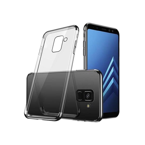 Samsung Galaxy A6 Plus - Stilrent Silikonskal från FLOVEME Röd