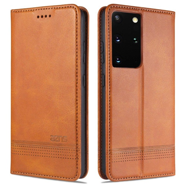 Samsung Galaxy S21 Ultra - YAZUNSHI Plånboksfodral Brun