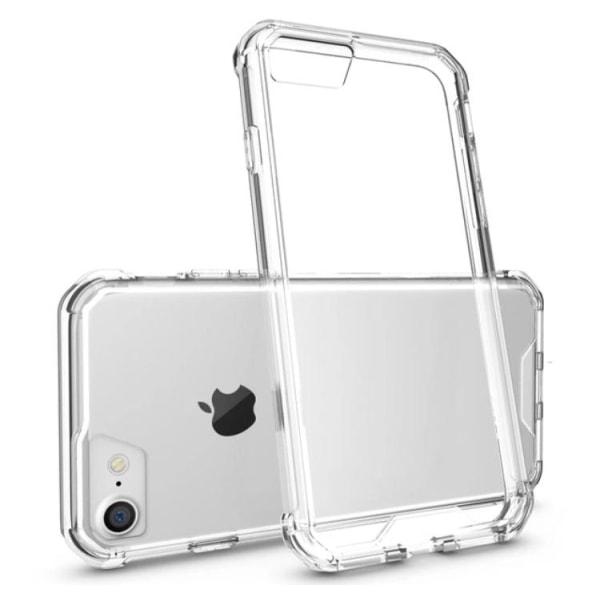 Stilrent Hybrid-Skal från LEMAN för iPhone 8 Plus Svart