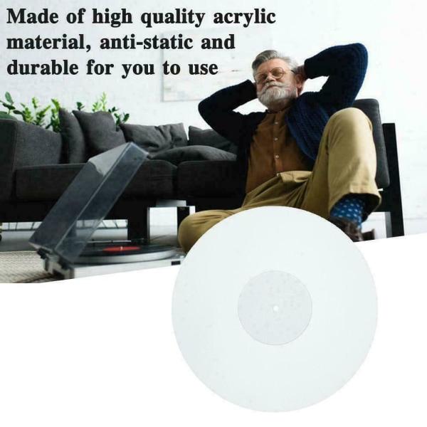 11,6 tum 3 mm akryl skivplatta Icke statisk LP Vinyl skivspelare