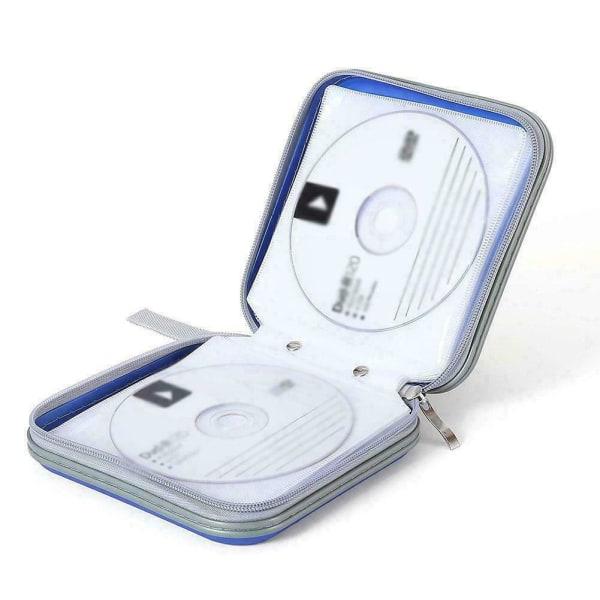 CD DVD-väska Hard Cover Skivförvaringshållare CD-plånbok