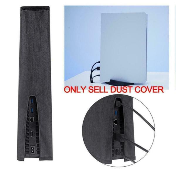 Host Dust Proof Cover Skin Soft Protector Sleeve för PS5-konsol