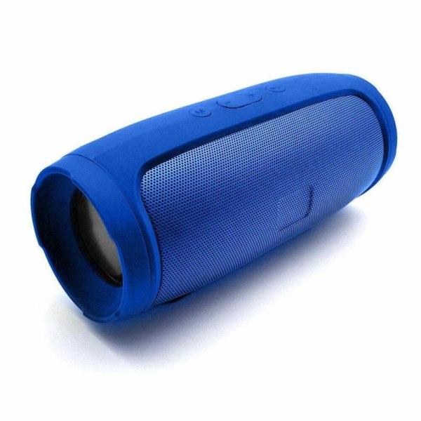 Mini Music Bluetooth bashögtalare Vattentät bärbar högtalare Ou blue