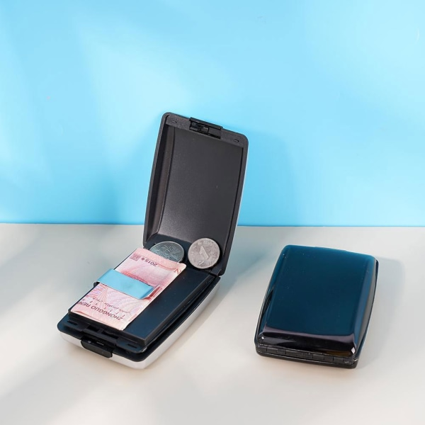 Multifunktionell plånbok Vattentät slitstark aluminiumplånbok