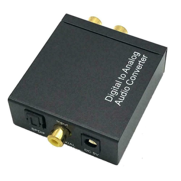 Optisk koaxial Toslink Digital till Analog Audio Converter US
