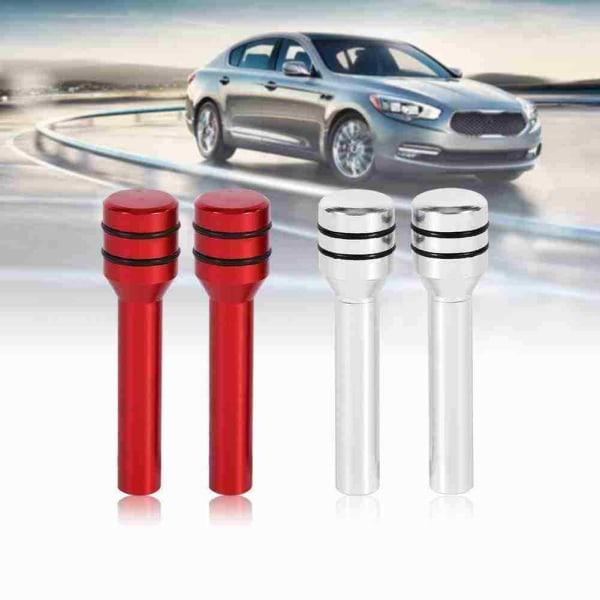 Universell dörrlåsknopp för bil Aluminiumhandtag Trim Pin A red