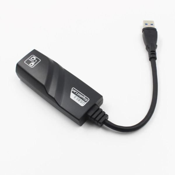 USB 3.0 till 10/100/1000 Mbps Gigabit Rj45 Ethernet Lan nätverksannons