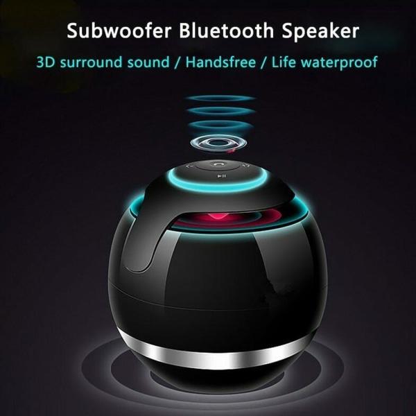 Trådlös Bluetooth-högtalare Subwoofer Mini bärbar magisk boll