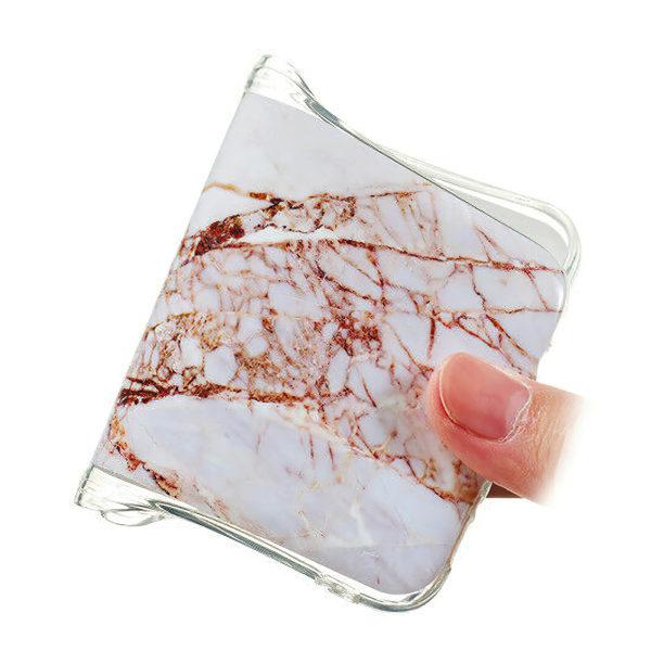 Samsung Galaxy A41 - Skal / Skydd / Marmor Svart