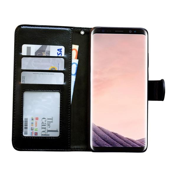 Samsung Galaxy S9 - Läderfodral/Skydd Svart