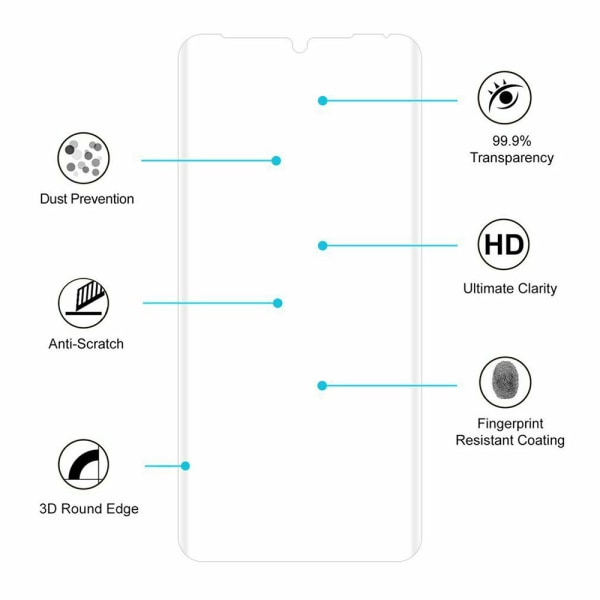 5x Huawei P30 Pro - Skärmskydd