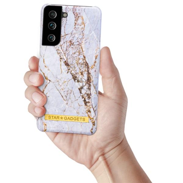 Samsung Galaxy S21 - Skal / Skydd / Marmor Svart
