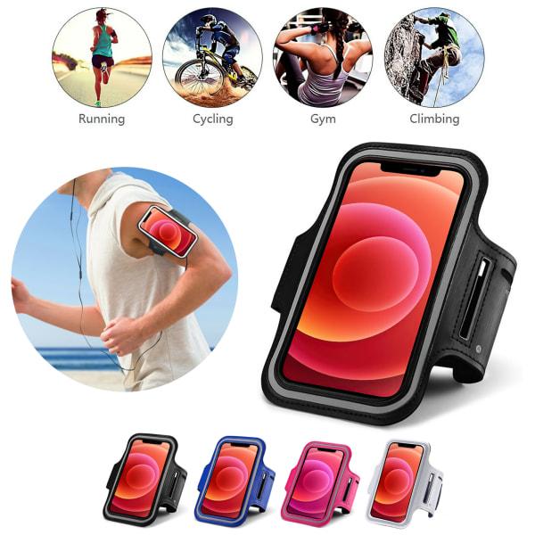 iPhone 12 Pro Max - Sportarmband Svart